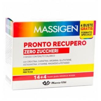 MASSIGEN PRONTO RECUPERO ZERO ZUCCHERI 14+4 BUSTINE