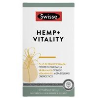 SWISSE HEMP + Vitality 60 Capsule