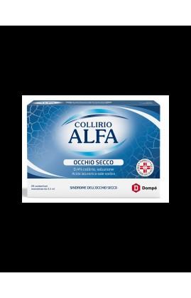 COLLIRIO ALFA OCCHIO SECCO*20 monodose collirio 0,5 ml 0,4%