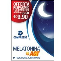 MELATONINA ACT  1 MG 150CPR