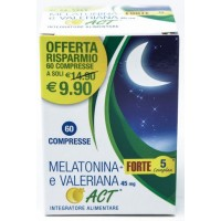 MELATONINA ACT+FT 5+VAL 60CPR
