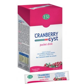 CRANBERRY CYST POCKET DRINK 16 BUSTE