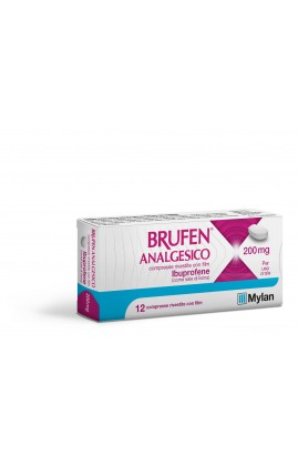 BRUFEN Analgesico 200mg 12 Cpr