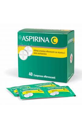 ASPIRINA C 40 Compresse Effervescenti  400+240 MG
