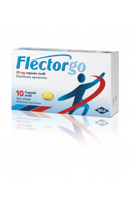 FLECTORGO 25mg 10 Cps