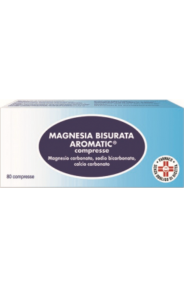MAGNESIA BISURATA AROM*80CPR